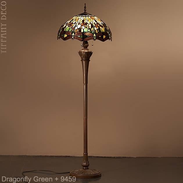 lampadaire tiffany