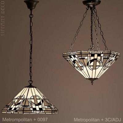 Tiffany hanglamp Metropolitan Large