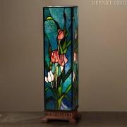 Vierkante Tiffany Lamp Tulpen Large