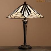 Tiffany Lamp Art Déco B&W