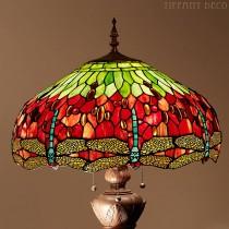 Tiffany Vloerlamp Dragonfly