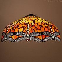 Replica Tiffany kap Dragonfly Flame Large