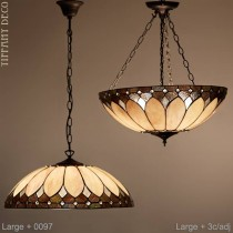 Tiffany hanglamp Basilique