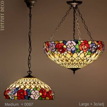 Tiffany hanglamp Flower Border