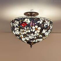 Tiffany Plafondlamp Magnolia Medium