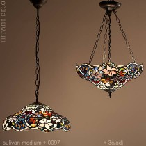 Tiffany hanglamp Sullivan Medium