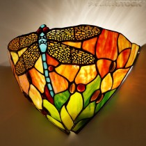 Tiffany wandlamp Dragonfly