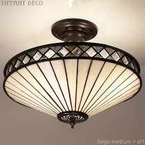 Tiffany Plafondlamp Fargo Medium