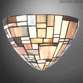 Tiffany wandlamp Blokmotief