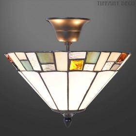 Tiffany hanglamp Blokmotief