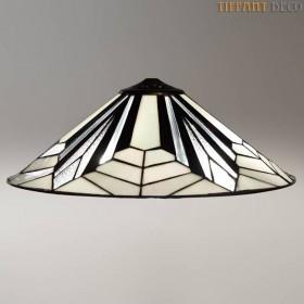 Tiffany kap Art Déco B&W