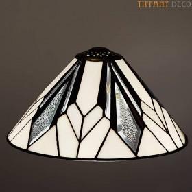 Tiffany kap Art Déco B&W Small