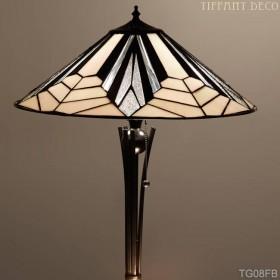 Tiffany Vloerlamp Art Déco B&W