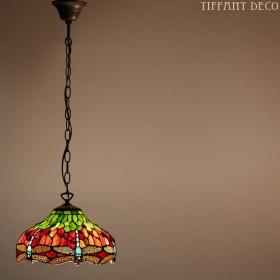 Tiffany hanglamp Dragonfly Small