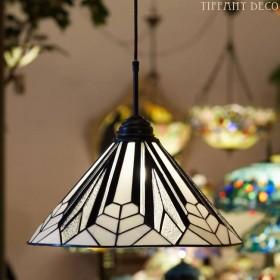Tiffany hanglamp Art Déco B&W