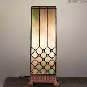 Vierkante Tiffany Lamp Vintage Medium