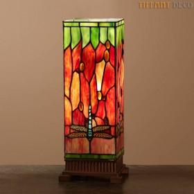 Vierkante Tiffany Lamp Libel Medium
