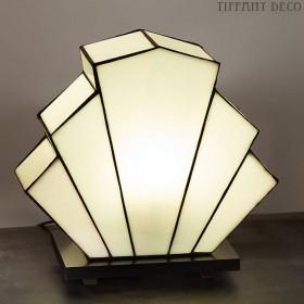 Tiffany Lamp B&W Art Déco Small
