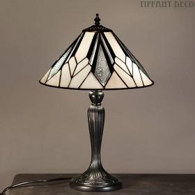 Tiffany Lamp Art Déco B&W Small
