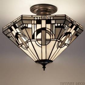 Tiffany Plafondlamp Metropolitan