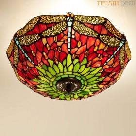 Tiffany Plafonnier Libellen