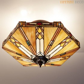 Tiffany Plafonnier Art Deco