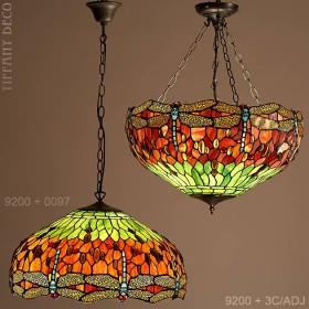 Tiffany hanglamp Dragonfly Large