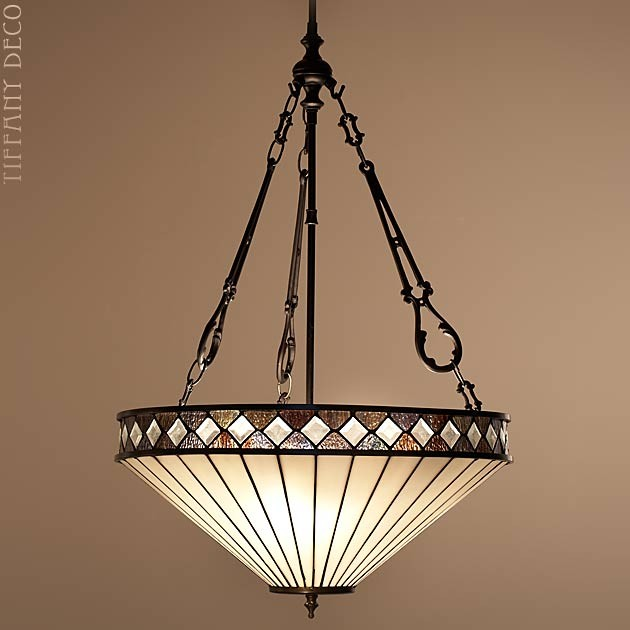 Suspension Tiffany suspended lamp fargo large - the most beautiful tiffany lamps