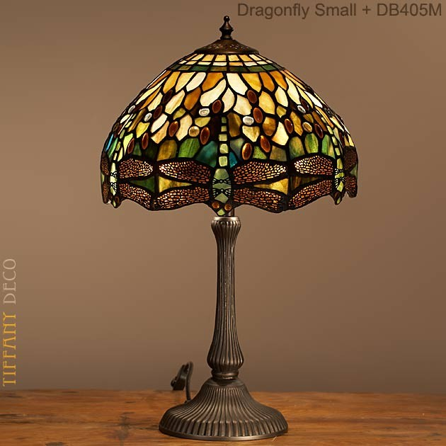 Tiffany Lamp Dragonfly Green Small The Most Beautiful
