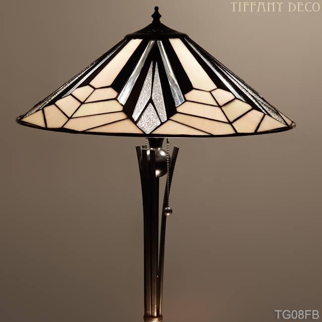 Tiffany Floor Lamp Art Deco B W Medium The Most Beautiful