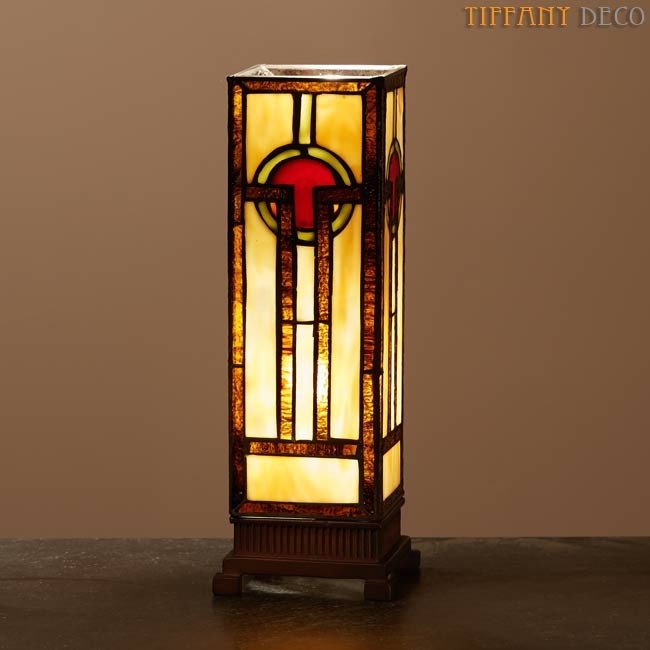 Square Tiffany Lamp Art D 233 Co Small The Most Beautiful