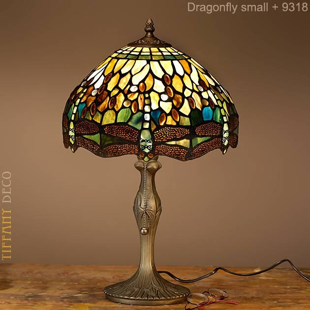 tiffany lamp dragonfly green small the most beautiful tiffany lamps. Black Bedroom Furniture Sets. Home Design Ideas