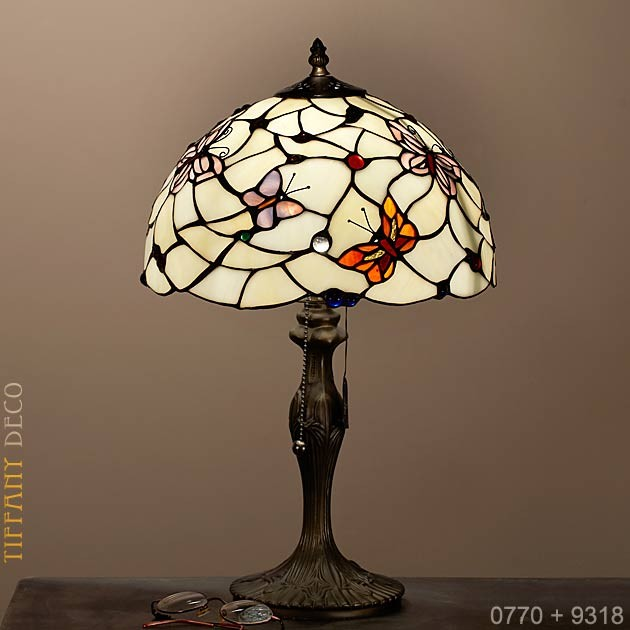 d0cb3b15e4994 Well-liked Tiffany Lamp Butterfly Small - the most beautiful Tiffany Lamps  DI53