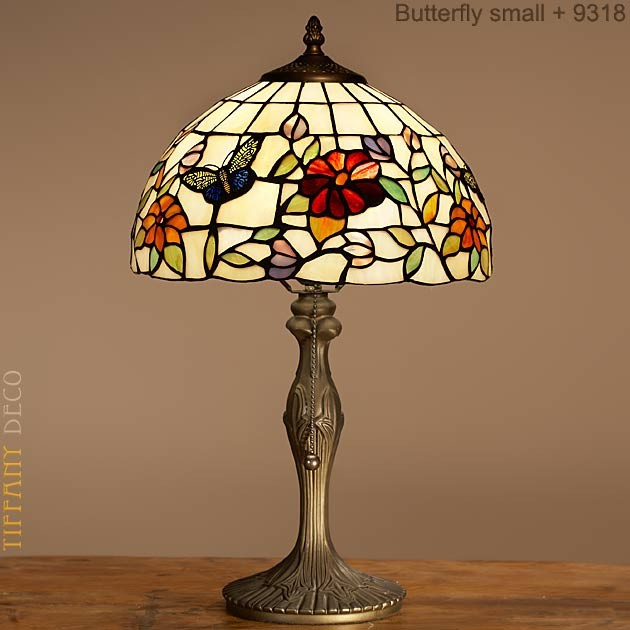 Tiffany lamp butterfly small the most beautiful tiffany for Tiffany lampen