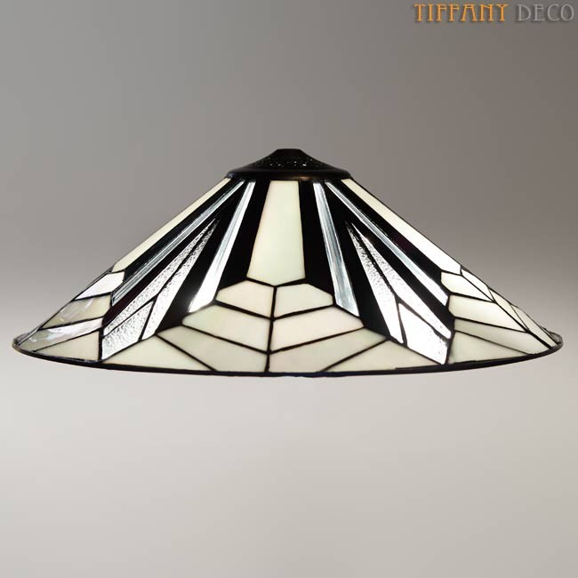 Suspension Tiffany lampe suspendue art déco b&w flush - the most beautiful tiffany lamps