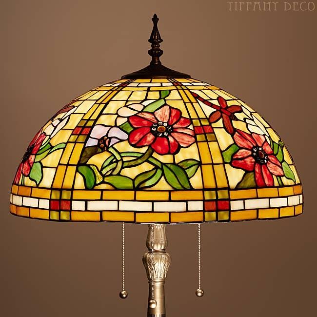 lampadaire tiffany libelulles les plus belles lampes tiffany. Black Bedroom Furniture Sets. Home Design Ideas