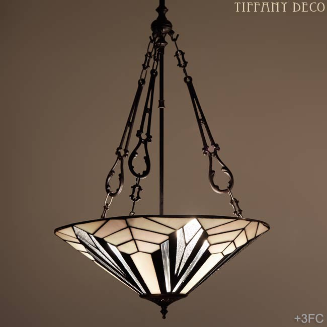 lampe suspendue art d co b w plat les plus belles lampes tiffany. Black Bedroom Furniture Sets. Home Design Ideas