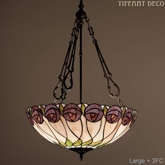 lampe suspendue rosetta les plus belles lampes tiffany. Black Bedroom Furniture Sets. Home Design Ideas