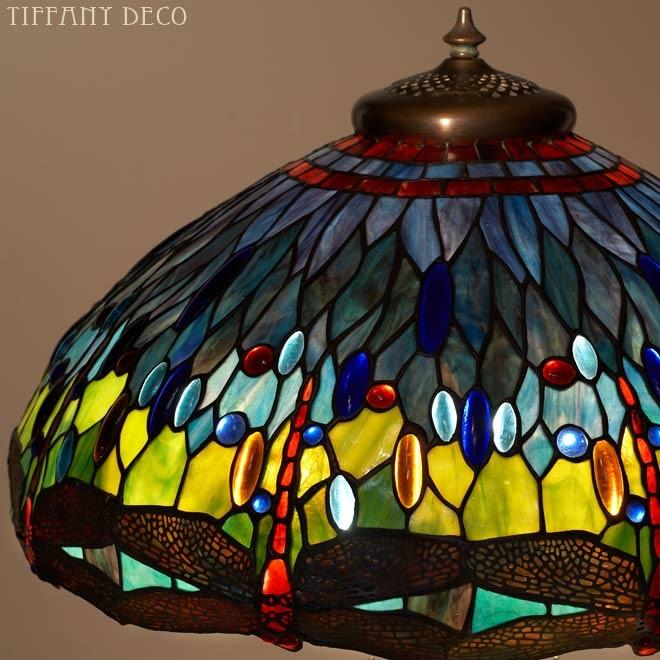r plique tiffany libelulles les plus belles lampes tiffany. Black Bedroom Furniture Sets. Home Design Ideas