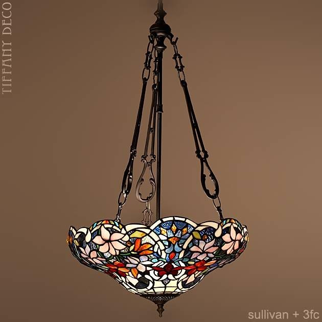 lampe suspendue sullivan medium lampes suspendues lampes tiffany les plus belles lampes. Black Bedroom Furniture Sets. Home Design Ideas
