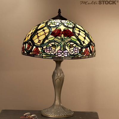 lampe tiffany roseraie medium les plus belles lampes tiffany. Black Bedroom Furniture Sets. Home Design Ideas