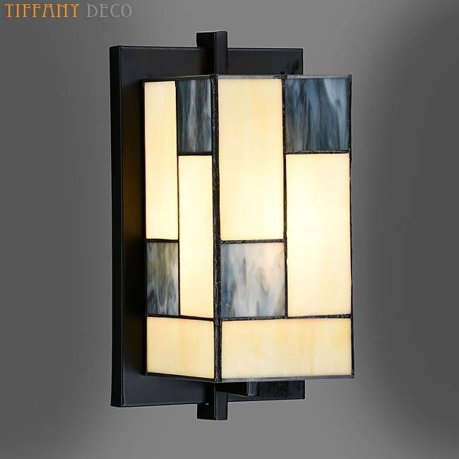 applique tiffany mondriaan les plus belles lampes tiffany. Black Bedroom Furniture Sets. Home Design Ideas