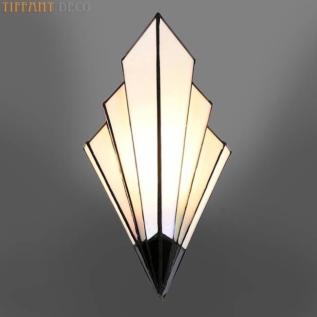 applique tiffany art d co b w les plus belles lampes tiffany. Black Bedroom Furniture Sets. Home Design Ideas
