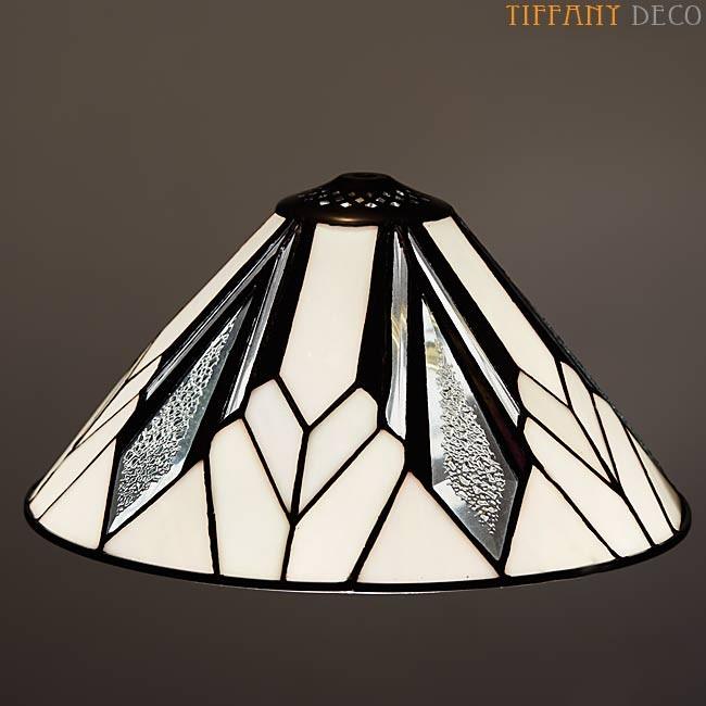abat jour tiffany art d co b w small les plus belles. Black Bedroom Furniture Sets. Home Design Ideas