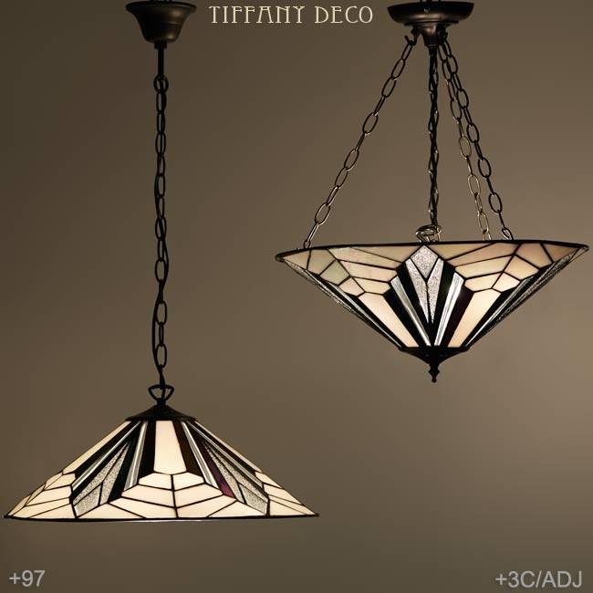lampe suspendue art d co b w plat les plus belles lampes. Black Bedroom Furniture Sets. Home Design Ideas