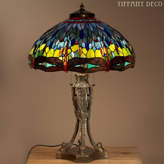 r plique tiffany libelulles lampes de table tiffany lampes tiffany les plus belles lampes. Black Bedroom Furniture Sets. Home Design Ideas