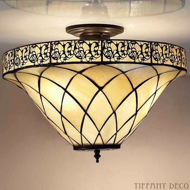 plafonnier tiffany oriental medium les plus belles lampes tiffany. Black Bedroom Furniture Sets. Home Design Ideas