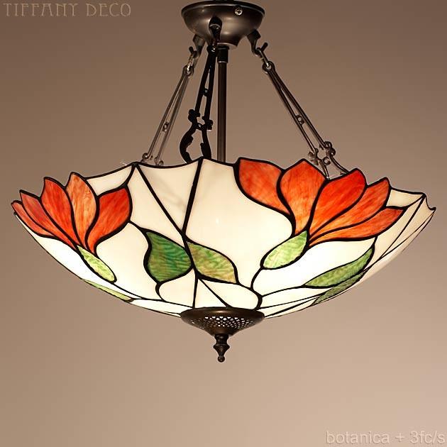 lampe suspendue botanica plat les plus belles lampes tiffany. Black Bedroom Furniture Sets. Home Design Ideas