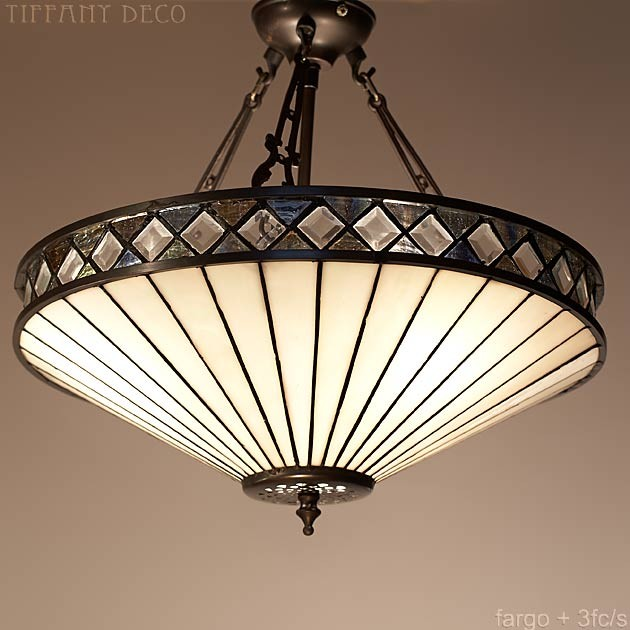 lampe suspendue fargo medium les plus belles lampes tiffany. Black Bedroom Furniture Sets. Home Design Ideas