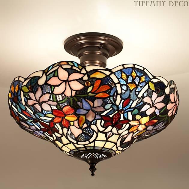 plafonnier tiffany sullivan medium les plus belles lampes tiffany. Black Bedroom Furniture Sets. Home Design Ideas